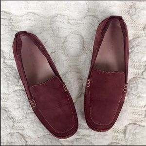 Timberland Suede Slip On Loafers